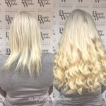 Straight White Hair Extensions