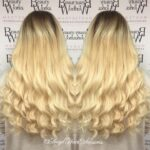 Curly Blonde Hair Extensions