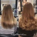 Curly Fair-Haired Hair Extensions