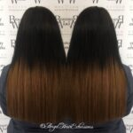 Straight Dark Brown Hair Extensions
