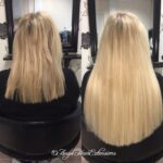 Straight Blonde Hair Extensions