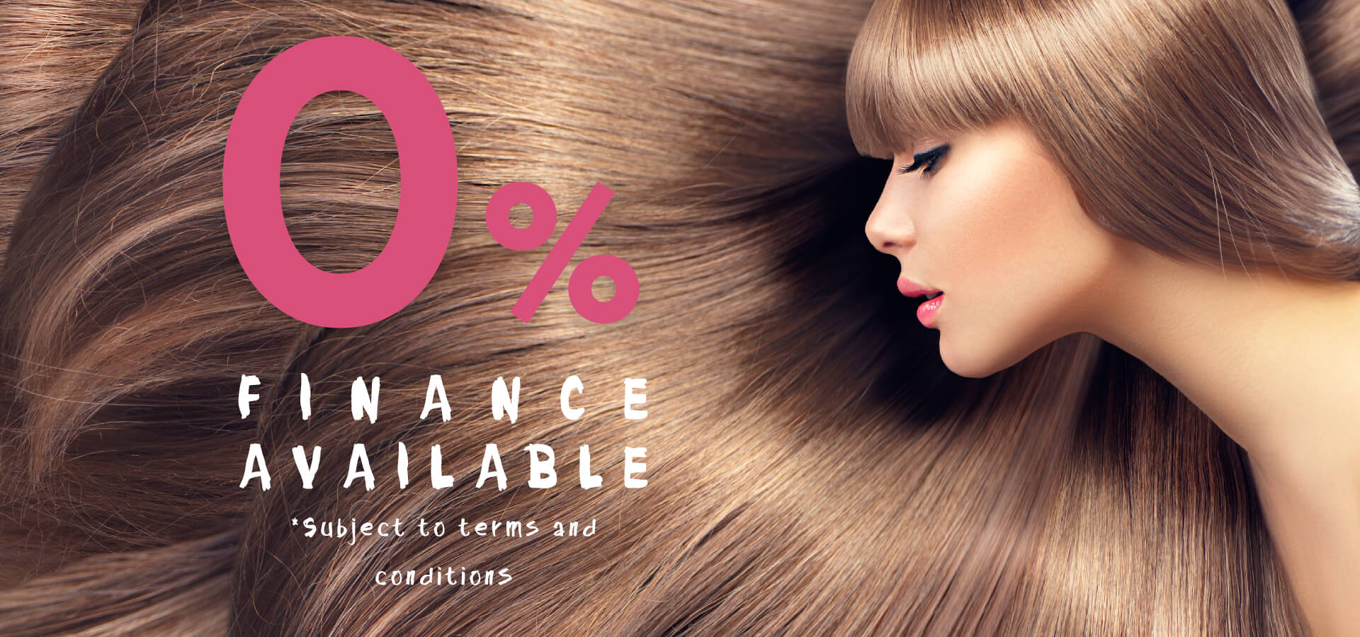 0 Finance Package Angel Hair Extensions