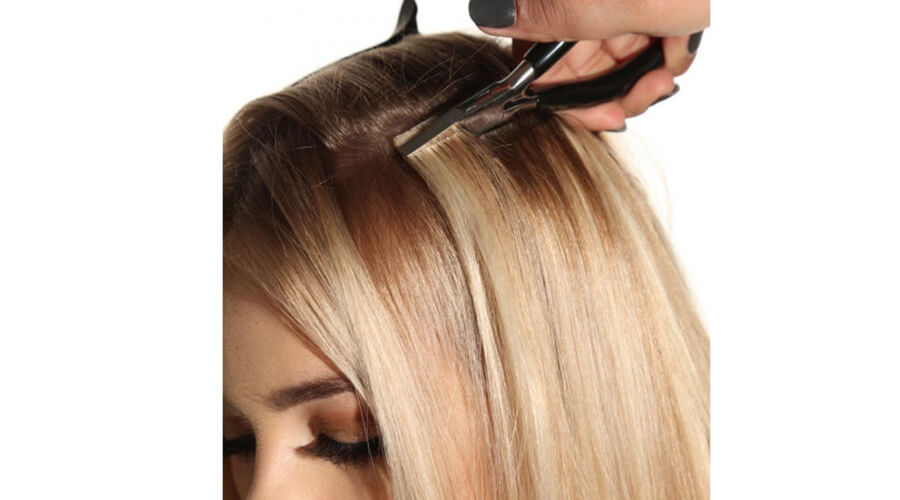 Beauty Works tape hair extension applications